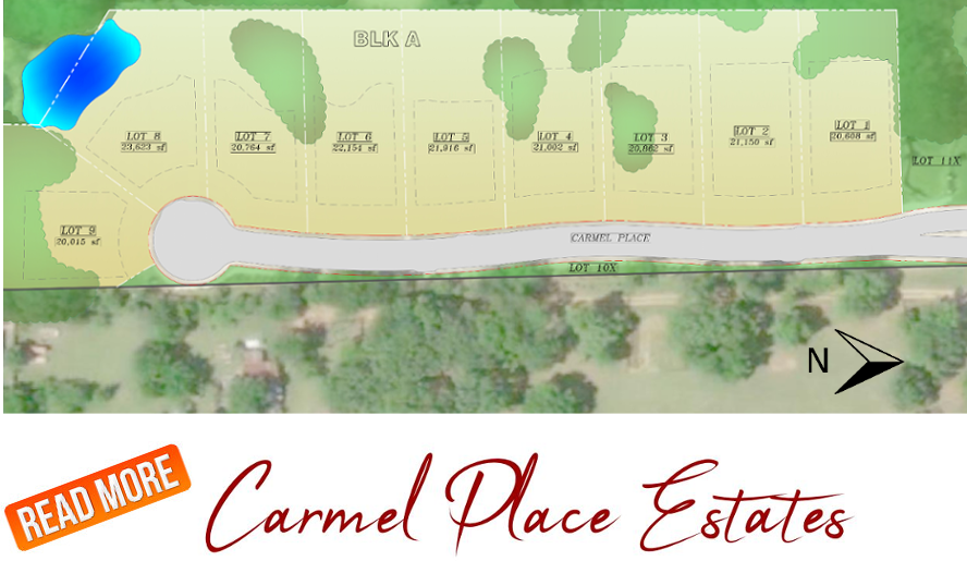 READ MORE about Carmel Place Estates!