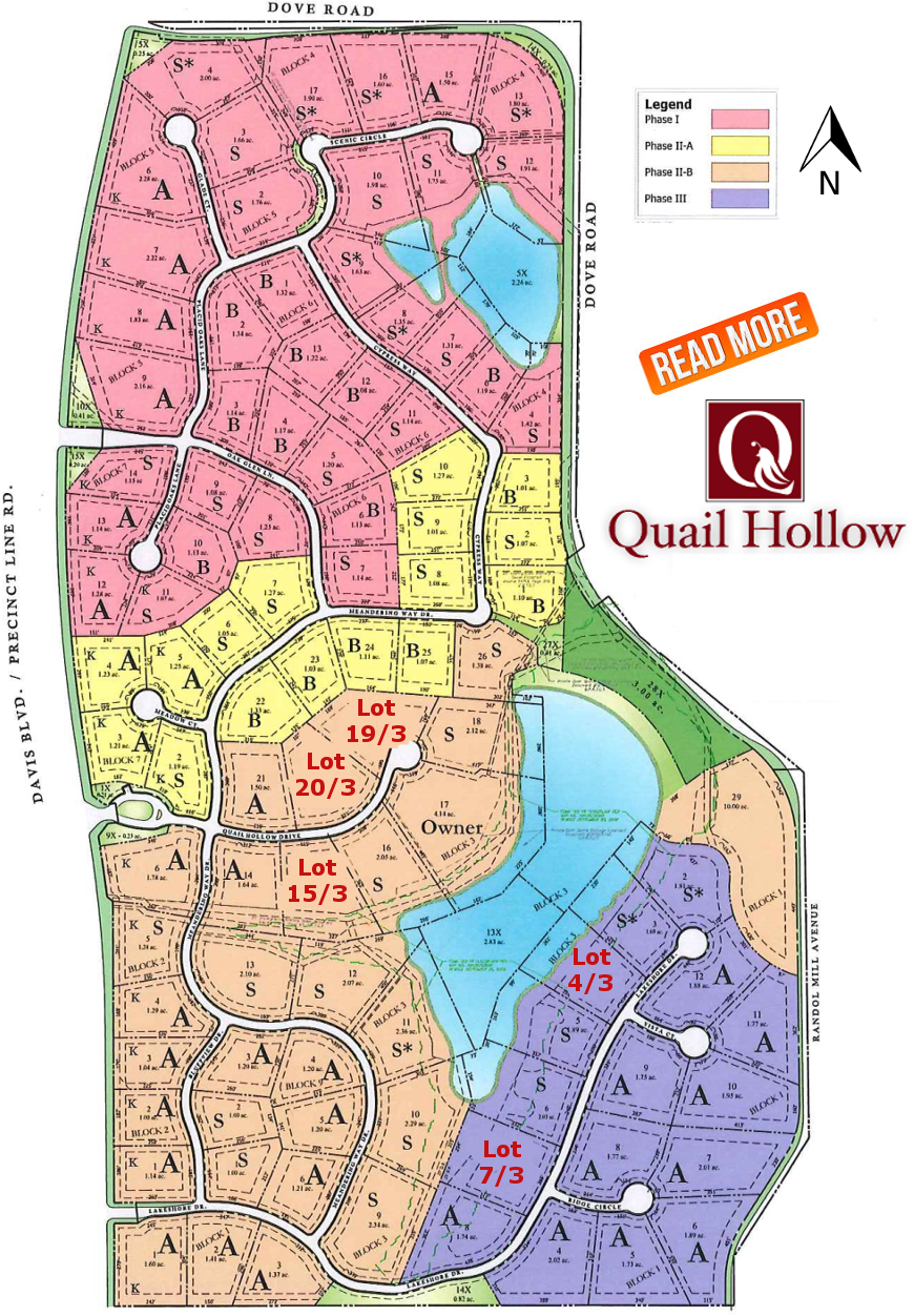 READ MORE about Quail Hollow!