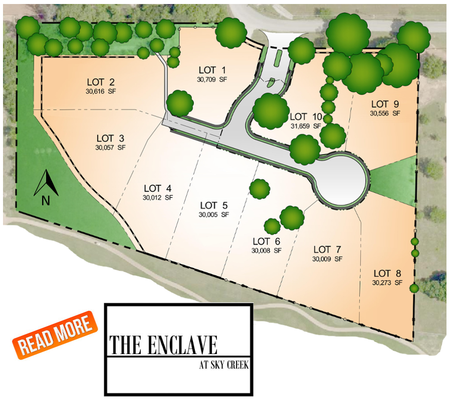 READ MORE about The Enclave at Sky Creek!